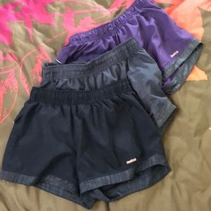 Reebok Running Shorts Bundle Of 3 - sz M